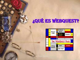 ¿Qué es WebQuest?