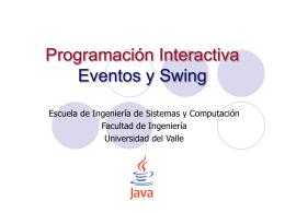 Manejo de Eventos - Escuela de Ingeniería de Sistemas y