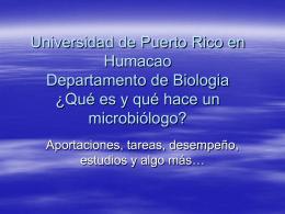 Dr. Félix A. Castrodad - Universidad de Puerto Rico Humacao