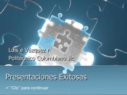 Diseño de Presentaciones Exitosas