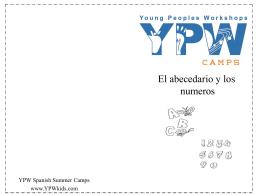El abecedario y los numeros cuaderno 2014