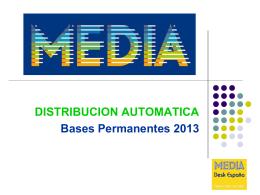 Distribución Automática