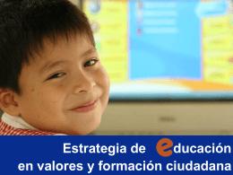 Diapositiva 1 - Educación en Valores y Prácticas Democráticas