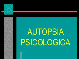 AUTOPSIA PSICOLOGICA - Gobierno del Estado de México