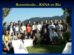 Resumiendo…Rana en Río