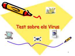 Test del Virus - WordPress.com