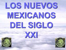 Los nuevos Mexicanos