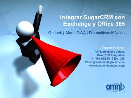 Trevor Poapst - Riva CRM Integration