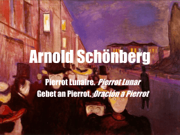 Arnold Schönberg - planificacionwikitarea2