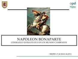 napoleon bonaparte liderazgo estrategico en un mundo cambiante