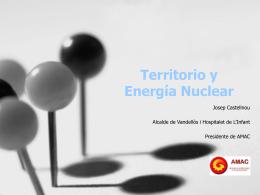 Territorio y energía nuclear