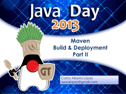 Maven Build & Deployment Part II