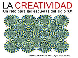 creatividad - arceppriego