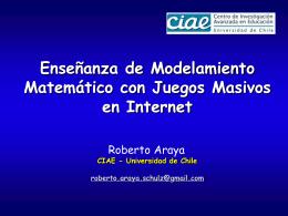 Metáforas en la enseñanza de la matemática Roberto Araya www
