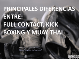 powerpoint - Only Muay Thai