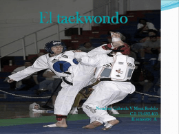 Presentación de Taekwondo ( GabY)