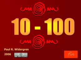 Numeros 10-100