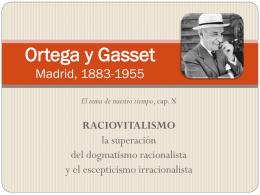 12. Ortega y Gasset PWP