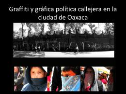 El deleite de la transgresión. Graffiti y gráfica política