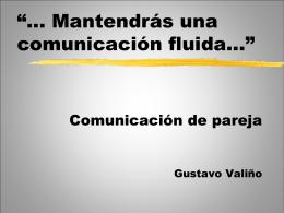 Comunicación de pareja