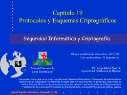 Protocolos y Esquemas Criptográficos
