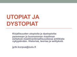 Utopiat ja dystopiat