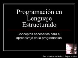 Programación en Lenguaje Estructurado