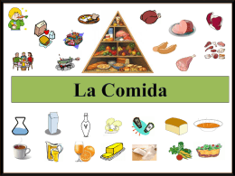 la comida ppt - Spanish4Ever