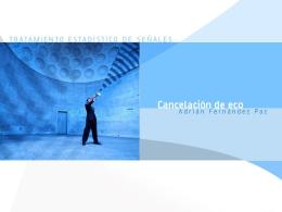 CANCELACION DE ECO