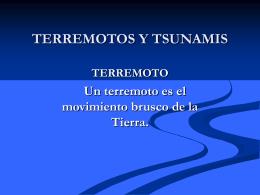 TERREMOTOS Y TSUNAMIS (V.Otárola)