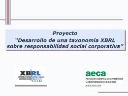Presentación - Asociación Española de Contabilidad y