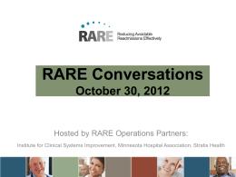 Slides - RARE Campaign