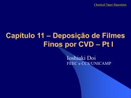 CVD I - Centro de Componentes Semicondutores