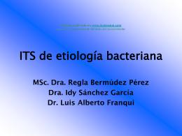 ITS de etiologia bacteriana