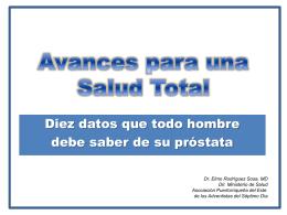 Avances para una Salud Total prostata