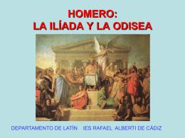 2. Homero Ilíada y Odisea