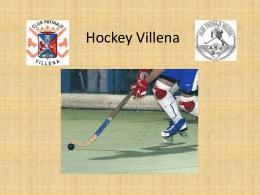 Hockey Villena - Tu patrocinio