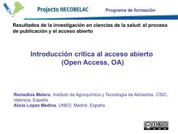 Reme Melero, Alicia L. Medina: Introducción crítica