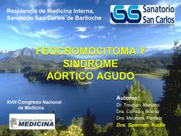 Feocromocitoma y Sindrome Aórtico Agudo