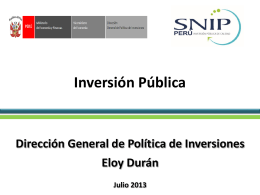 Inversion-Publica