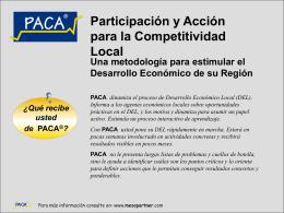 Presentación de PowerPoint - PACA