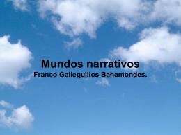 II UNIDAD: Mundos narrativos - Lengua Castellana y Comunicación