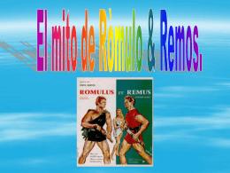 El mito de Ròmulo & Remos