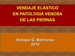 13 - Elastocompresión Venda. - bienvenidos | dr enrique g. bertranou