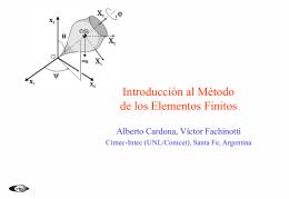 Introducción al Método de los Elementos Finitos
