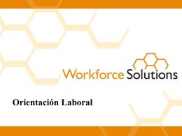 Bienvenido a Workforce Solutions!