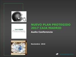 El plan Protegido Renta 2017
