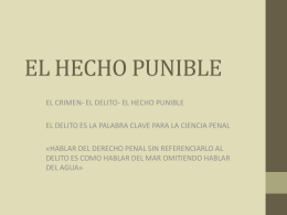 EL-HECHO-PUNIBLE