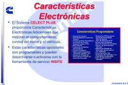 Características Electrónicas