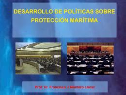 DESARROLLO DE POLÍTICAS SOBRE PROTECCIÓN MARÍTIMA